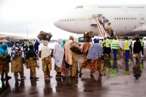 •Nigerian Hajj pilgrims leaving for Saudi Arabia