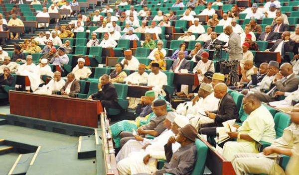 •House of Reps in session