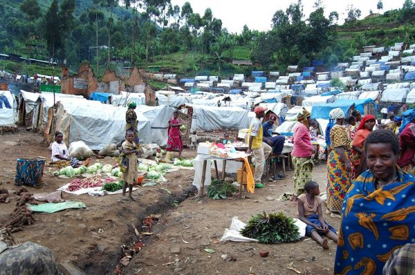 Wedding explosion, harvest of births in IDP camps