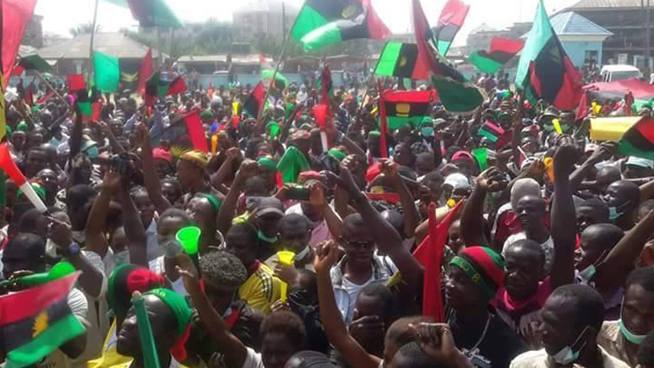 •IPOB supporters
