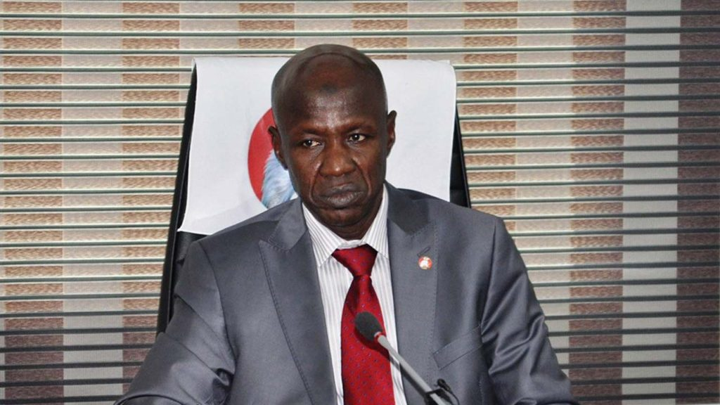 • Acting EFCC Chairman, Magu