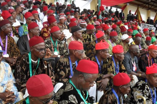 •Igbo red cap chiefs