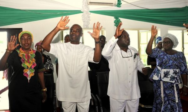 Just In: Abia Governor Ikpeazu Moves into government House (Photos)