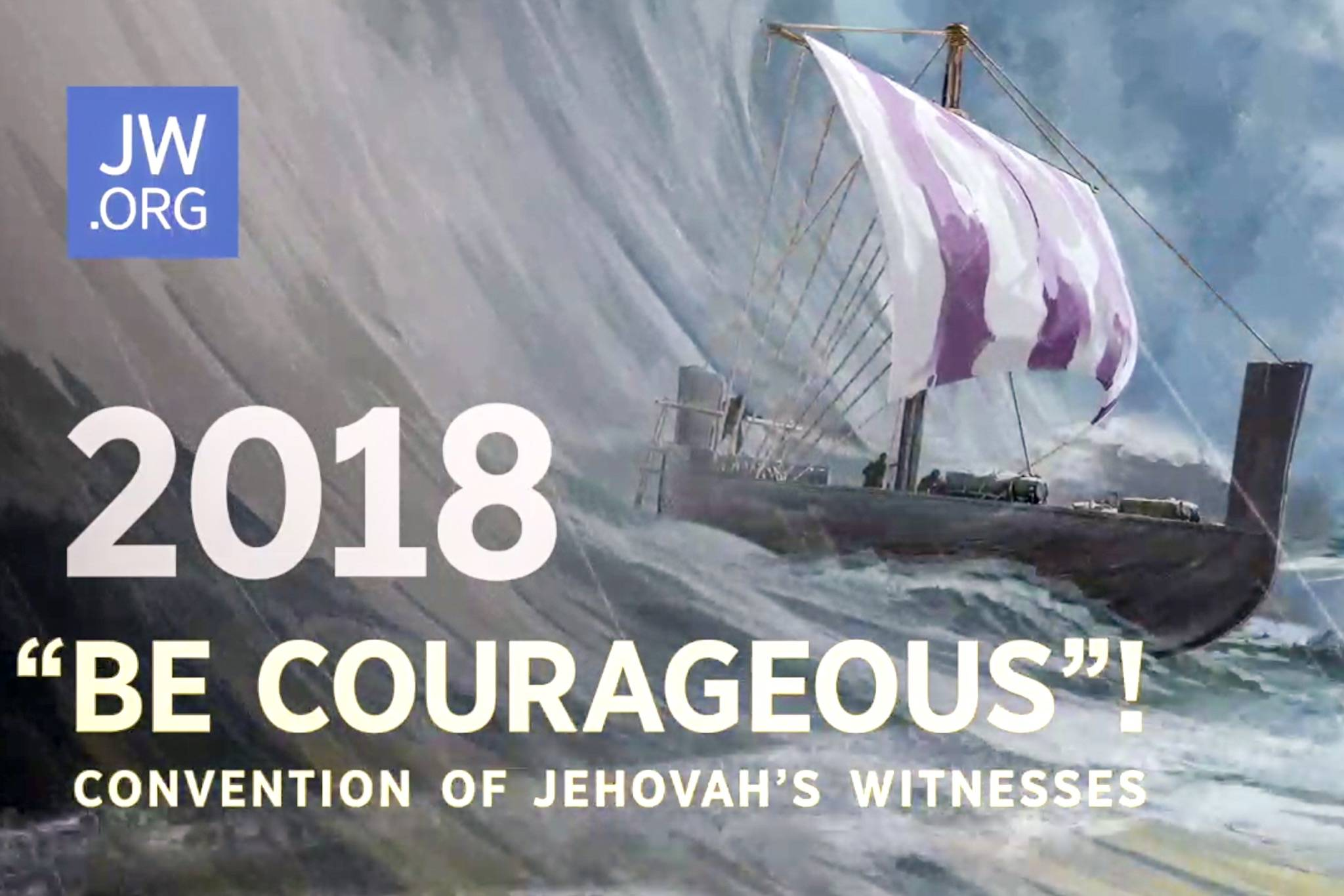 Thousands gather at Ota for Jehovah's Witnesses' 'Be Courageous!' Regional Convention