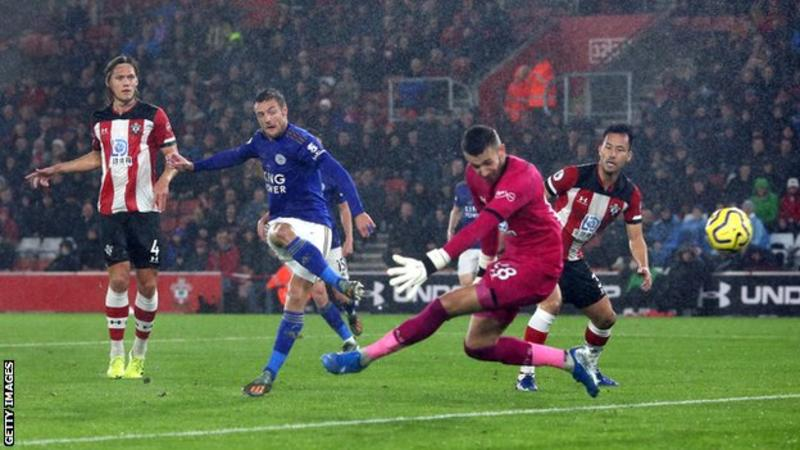 Leicester equal Premier League record with 9-0 demolition of Southampton