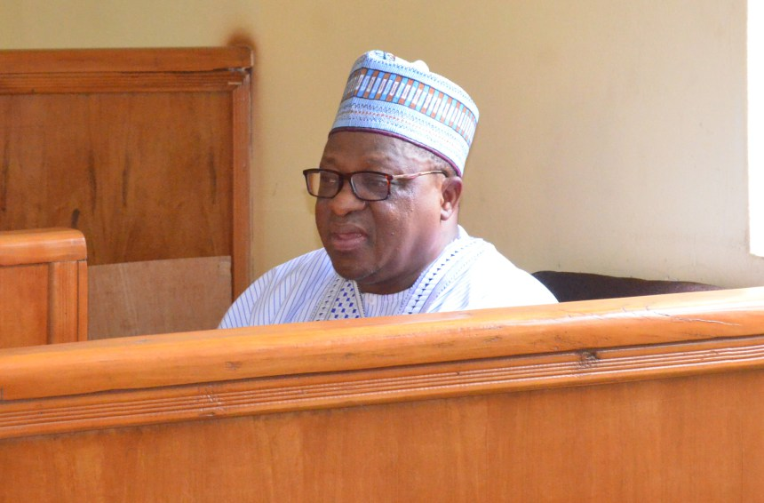 •Joshua Daiyere, during his arraignment at the FCT High Court Gudu,in Abuja on Tuesday (12/6/18).