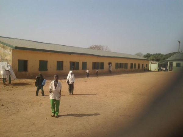 •Pupils at one of the schools on resumption day . . . on Monday. Photo: Garba Ahmed.