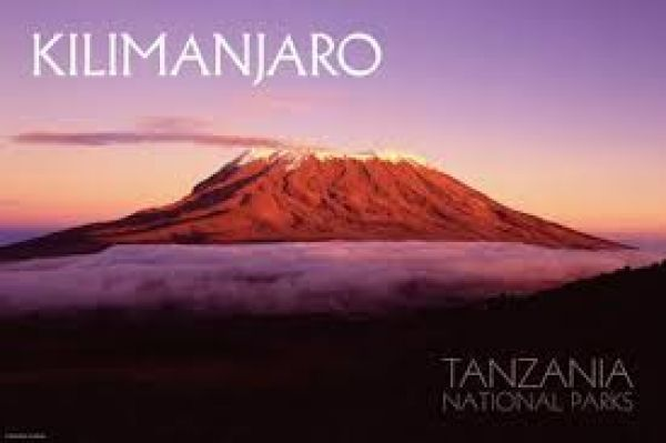 Tanzanian mountain guide sets out to break the world record in climbing Mt. Kilimanjaro, Africa's tallest Mountain