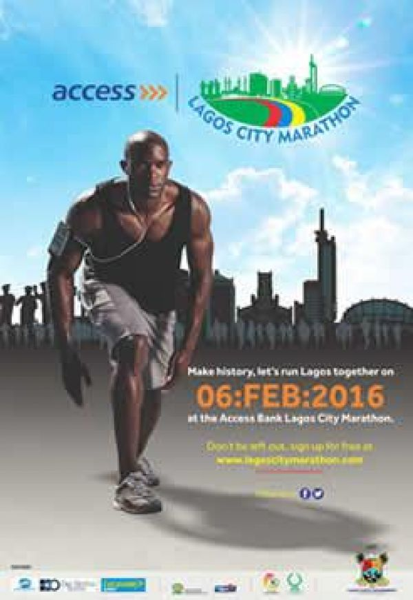 100,000 athletes from 27 countries storm Lagos for marathon