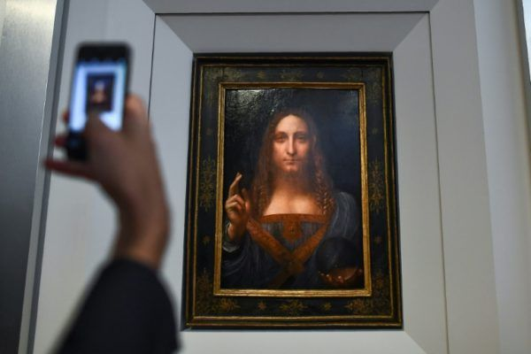 Painting of Jesus to be sold for $100m