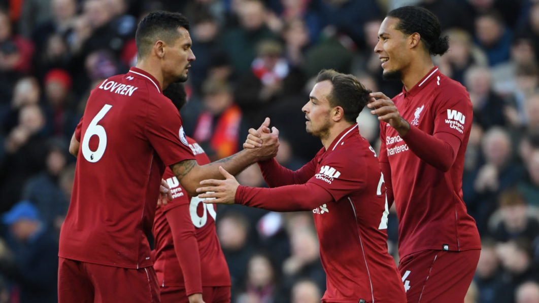 Liverpool go top of EPL as Bournemouth and Watford press on