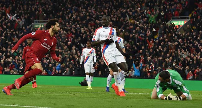 Premiership: Salah fires Liverpool seven points clear, United extend winning run