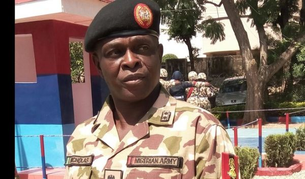 •New Operation Lafiya Dole Theatre Commander, Major Gen. Rogers Ibe Nicholas