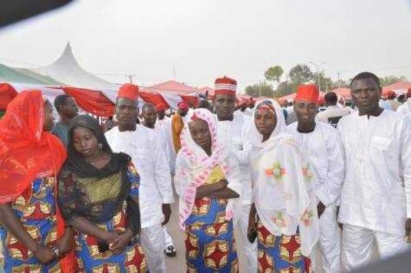 Mass wedding in Sokoto; 100 couples tie knot