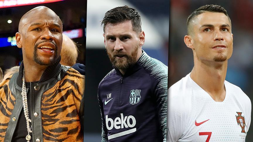 Mayweather, Messi, Ronaldo top list of sports' highest earners in 2018