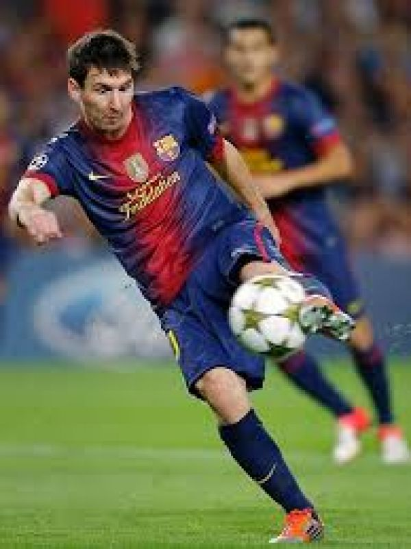 •FC Barcelona of Spain superstar Lionel Messi