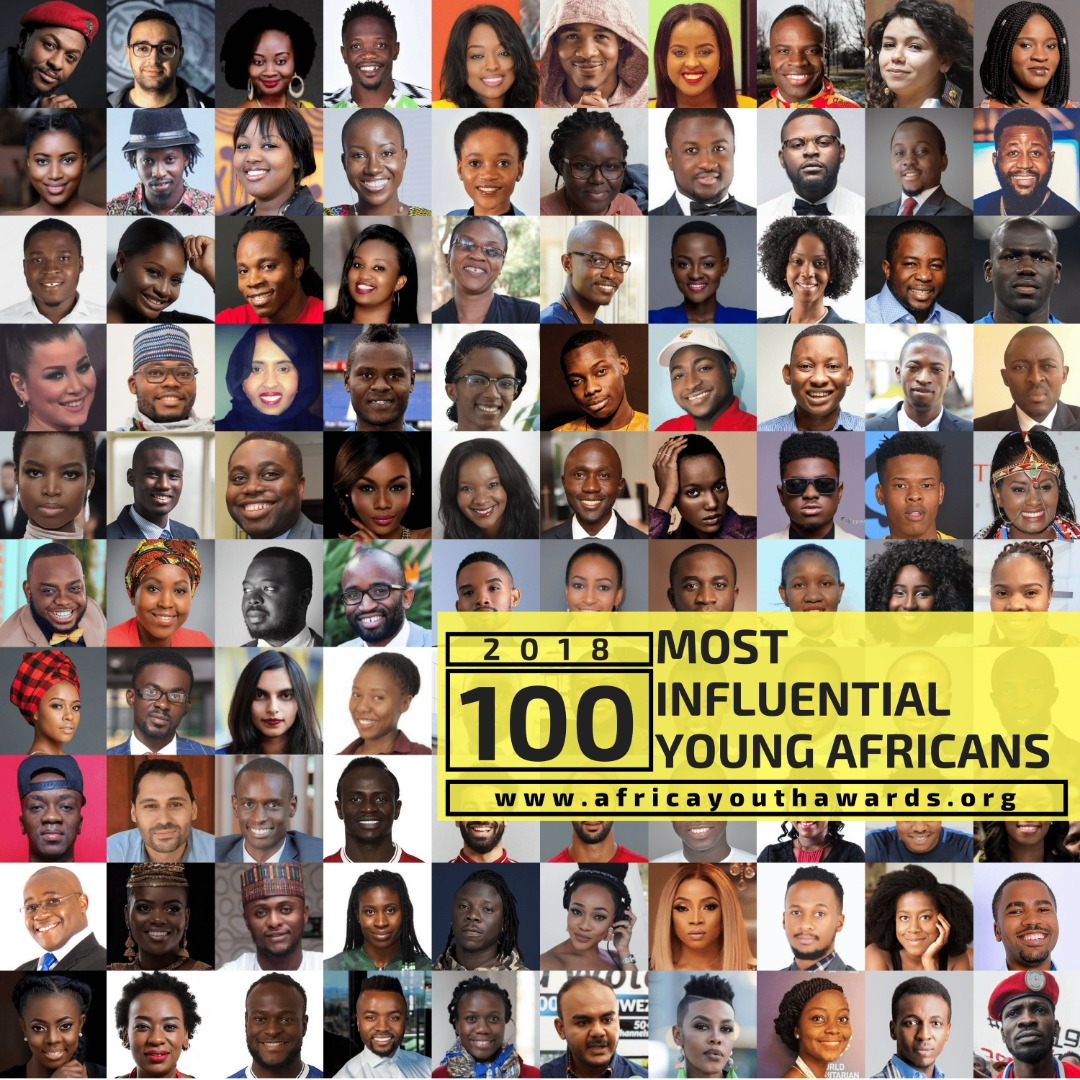 Davido, Stonebwoy, Bobi Wine, Mohamed Salah, Farida Nabourema make 2018 100 Most Influential Young Africans List