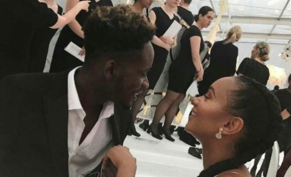 •Mr Eazi and sweetheart Temi Otedola