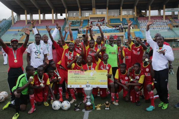Hensen Demonstration School Benin lifts 2017 NNPC/Shell Cup *Arase, Mavis win training trip to Holland