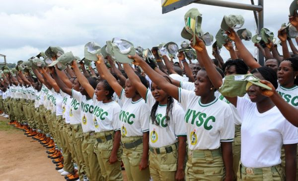 •A cross section of NYSC members
