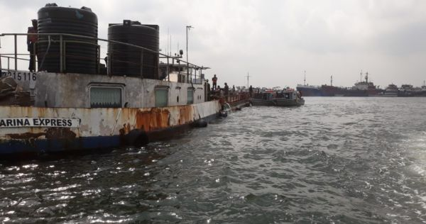 •Vessel impounded by Nigerian navy while being used for oil theft