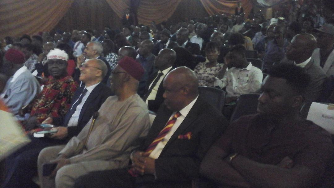 •Part of the audience at TheNiche Newspaper Second Annual Lecture in Lagos