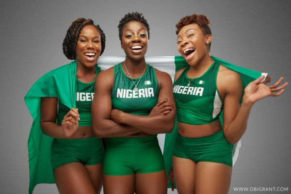•Nigerian Olympic-bound female Bobsled and Skeleton team