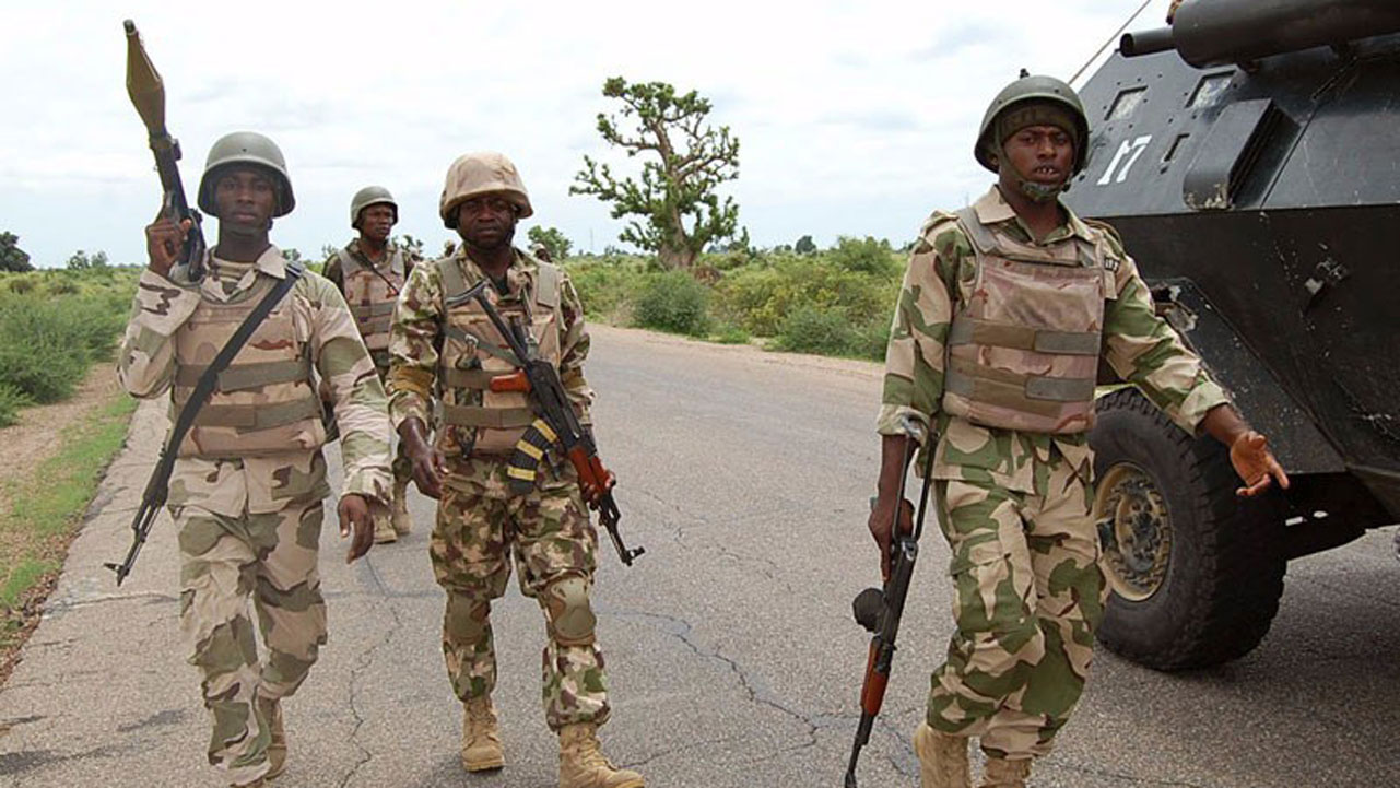 •Nigerian Troops