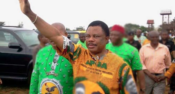 •Re-elected Governor Obiano