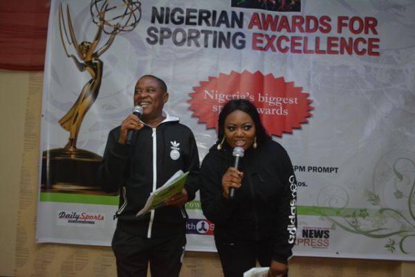 •Grandmaster Okim and Tessy Gold anchoring the awards ceremony on Saturday