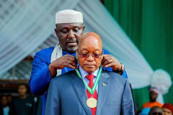 REVEALED: Why Buhari turned down Okorocha's invitation during Zuma's controversial visit