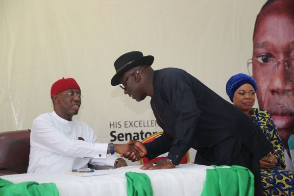My administration spends N1bn monthly on pensions — Okowa