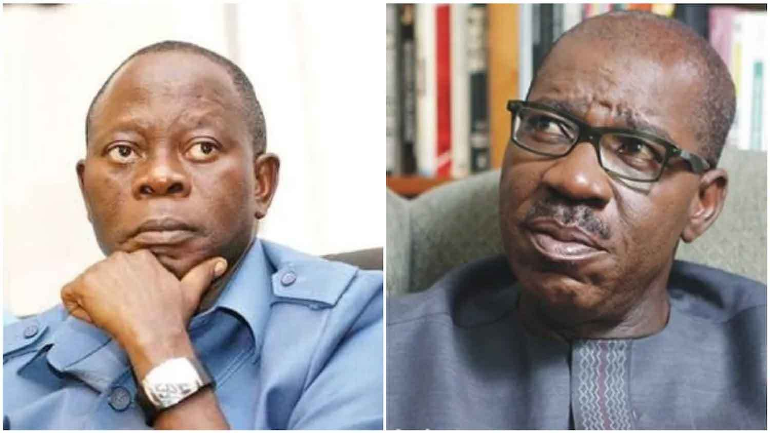 •Oshiomhole and Obaseki