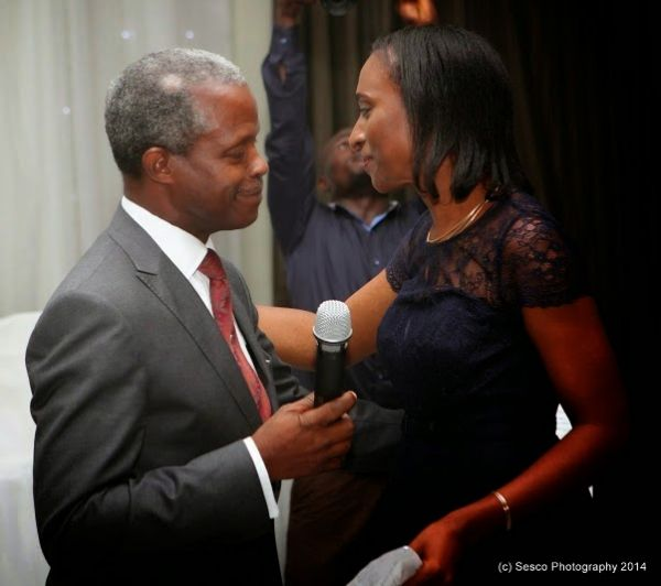 Osinbajo writes open love poem to wife Dolapo
