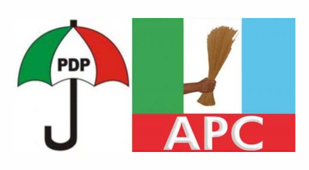•Photo collage of PDP and APC logo