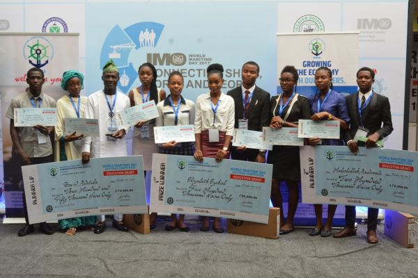 •Winners of the NIMASA Essay Competition