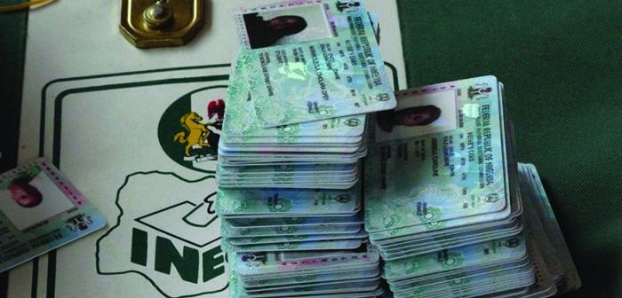 •INEC Permanent Voter Cards.