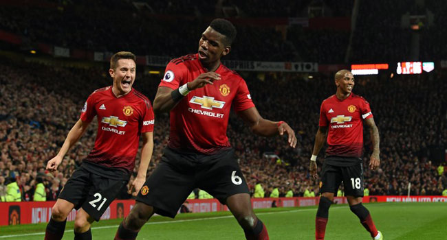 Pogba bags another brace as Manchester United maintain ruthless post-Mourinho form