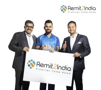 Cricket star Virat Kohli named Remit2India Brand Ambassador