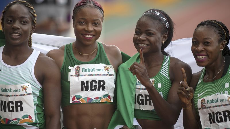 Team Nigeria finishes second as African Games end in Morocco