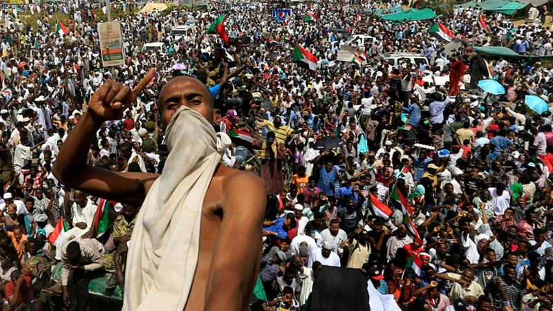 •Unrelenting Sudanese protesters. Photo: Reuters.