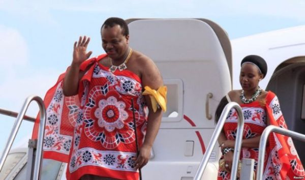 •King Mswati the III of Swaziland