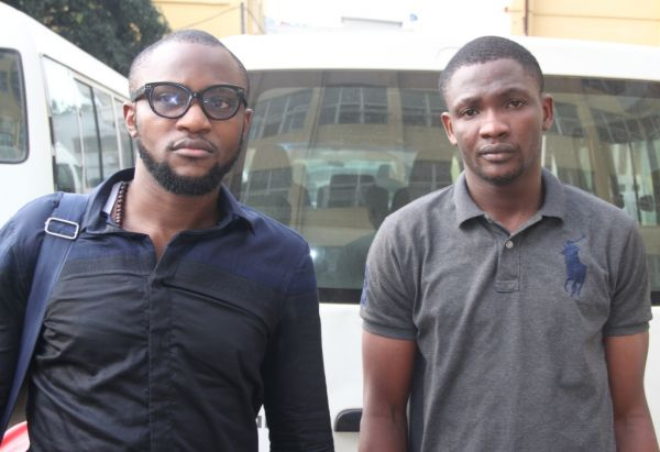 •The accused, Temitope Oluwasanmi and Augustine Olayinka