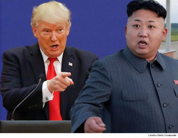 •Donald Trump and Kim Jong Un