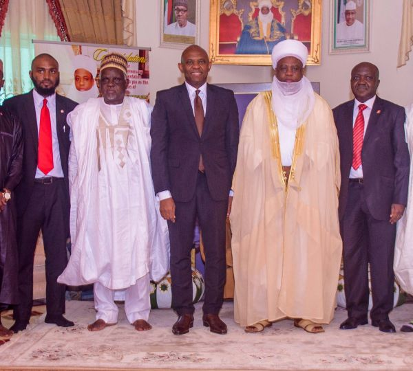 Job creation: Sultan commends Tony Elumelu, Foundation
