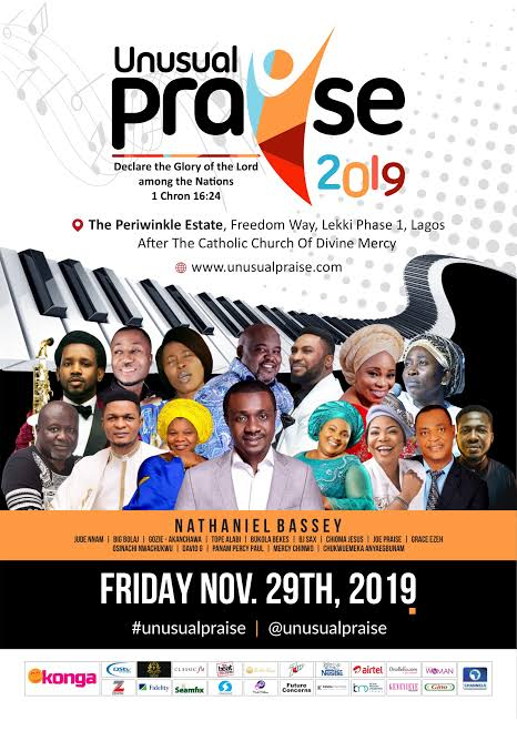 Unusual Praise 2019: Anticipation rises for 'biggest praise concert in Nigeria'