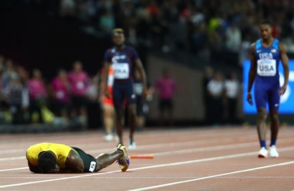 Nightmare for Usain Bolt; fails to finish last race of his career