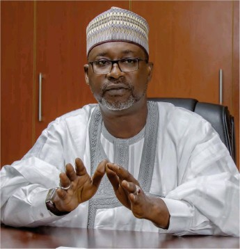 •Water Resources minister, Suleiman Adamu
