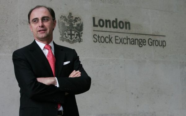 •LSEG Chief Executive Xavier Rolet.
