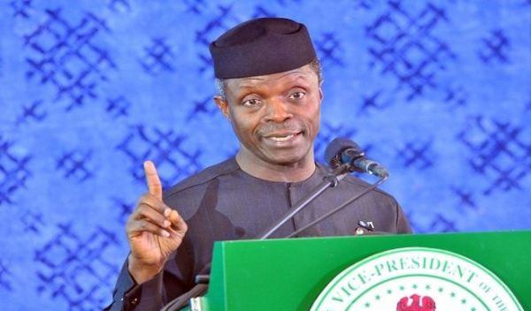 Corruption: Churches not free of blame, says Osinbajo